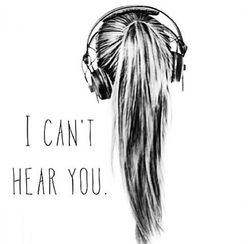 Drawn ponytail tumblr music Ignore blocking ignored 3 listen