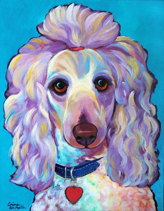 Drawn poodle abstract Original DooDle Poodle Dog Corina