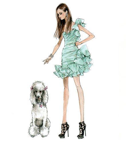 Drawn poodle barbie Robert