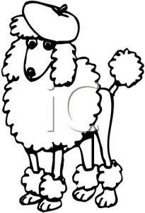 Drawn poodle bow Some She White Kate a