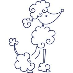 Drawn poodle simple Poodle Search Search drawing Google