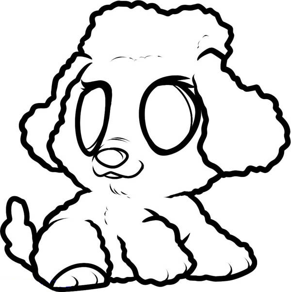 Drawn poodle simple Graphic Art Printable Poodle Free