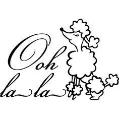 Drawn poodle themed On Ooh Cães Google la