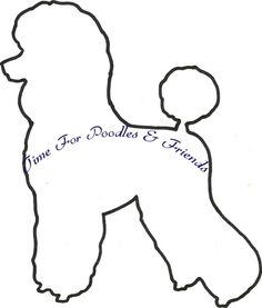 Drawn poodle themed Crafts Friends: printable Poodle Crafty