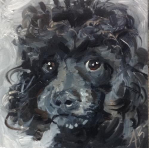 Drawn poodle water On and more Find on