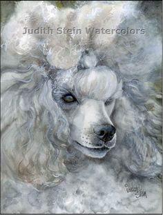 Drawn poodle watercolor Of Decor Art Lap PoOdlez