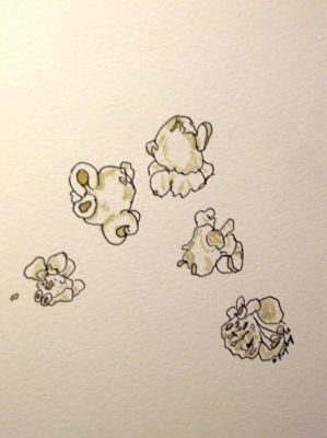 Drawn popcorn Drawing EDM Draw Friday's #1