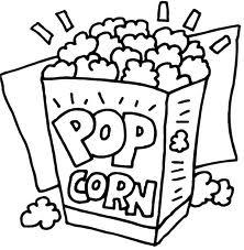 Drawn popcorn @ Beach! and Popcorn Popcorn