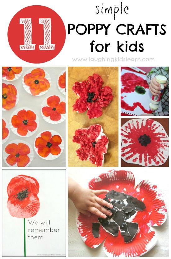 Drawn poppy 11 november Pinterest craft 11 Crafts Poppy