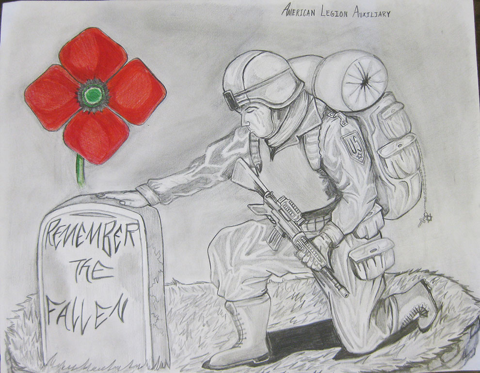 Drawn poppy american legion Auxiliary Poppy Related · ideas