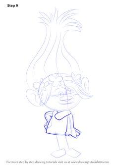 Drawn poppy animated A comedy Princess animated Trolls