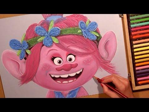 Drawn poppy animated Cartoon YouTube Drawing Pastel Cartoon