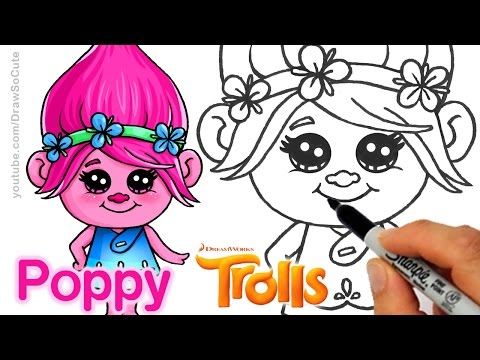 Drawn poppy animated Poppy Cute How step step