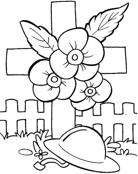 Drawn poppy anzac day Pinterest Poppy 25+ coloring badges