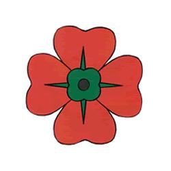 Drawn poppy anzac poppy Poppy Coloring Day) Page Poppies