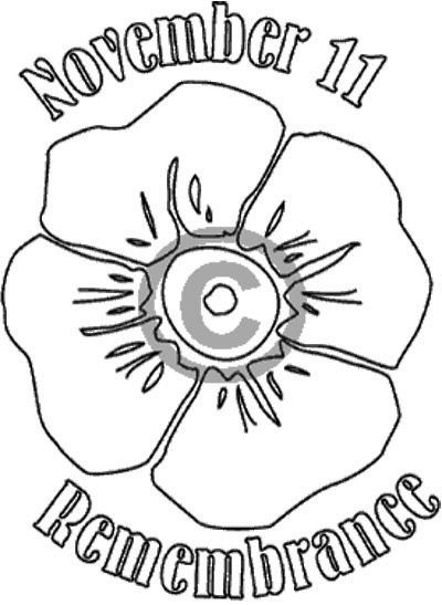 Drawn poppy armistice day Best day cards: on Remembrance