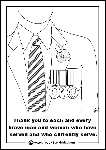 Drawn poppy armistice day Remembrance Pages Poppy veteran on