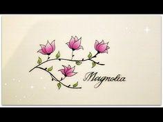 Drawn poppy beginner Flowers beginners YouTube how version
