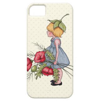 Drawn poppy big flower Poppy Girl Little Zazzle iPhone