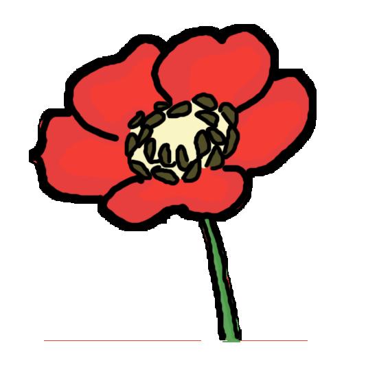 Drawn poppy clip art Clipart Free Clipart Panda poppy%20clipart