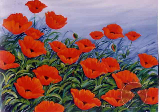 Drawn poppy flanders field Fields Flanders WWI In Webquest