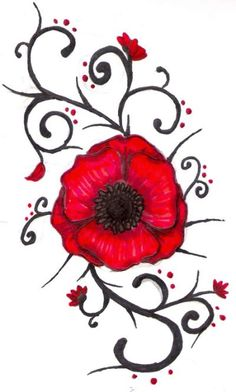Drawn poppy help for hero Poppy we tattoo this on