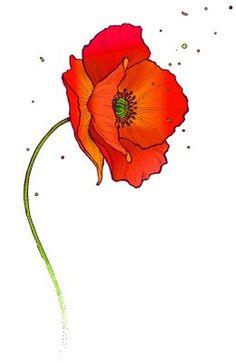 Drawn poppy help for hero Afficher l'image poppy … Single