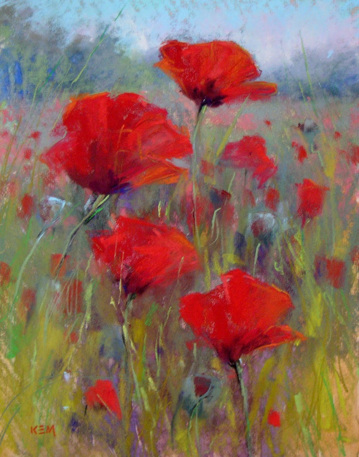 Drawn poppy painted Art Poppies that draws Dreaming