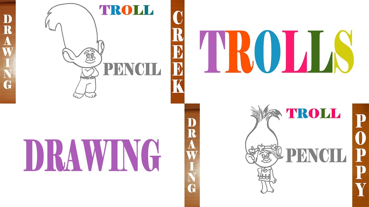Drawn poppy pencil step by step How CREEK Dreamworks and to