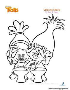 Drawn poppy printable Poppy Print suki movie and