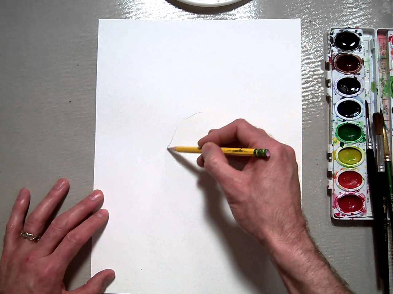 Drawn poppy real flower Poppy Drawing flowers YouTube Drawing