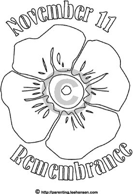 Drawn poppy rememberence Day Pinterest Remembrance template Poppy