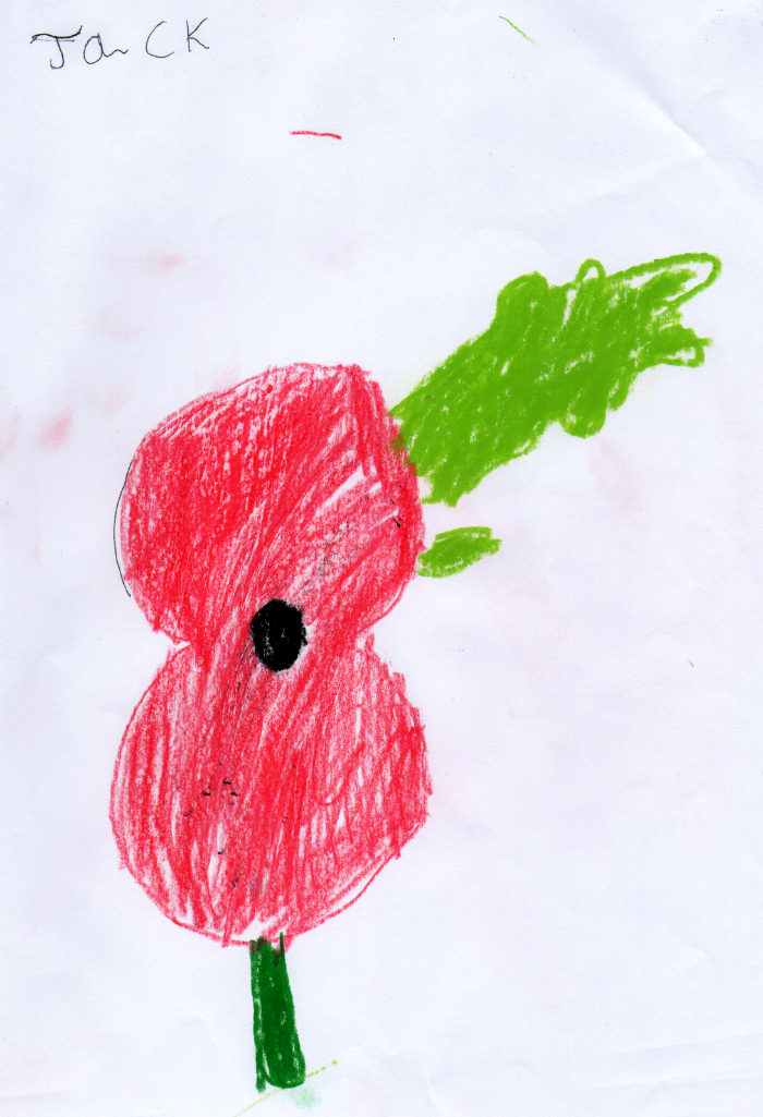 Drawn poppy rememberence Jack's Jack's Draws for Jack