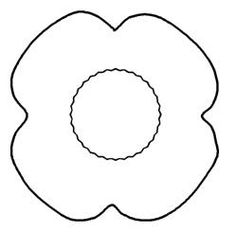 Drawn poppy rememberence Copyright Poppy  More Day