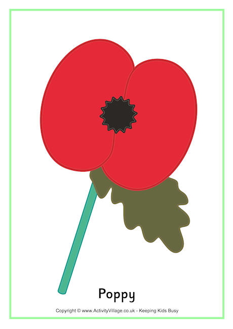 Drawn poppy remembrance day poppy Remembrance Day Printables Poster Poppy