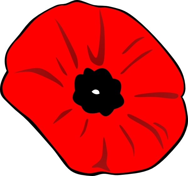 Drawn poppy remembrance day poppy Day for download Free