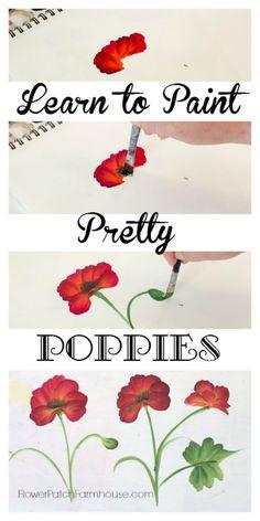 Drawn poppy stroke Draw (Poppy) Poppy Learn Step