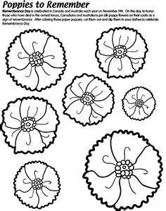 Drawn poppy veterans day Printable Pinterest images day Crafts