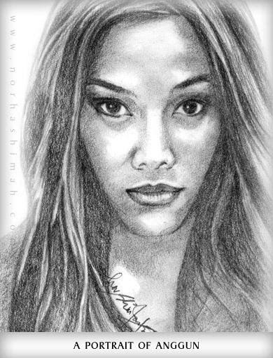 Drawn portrait Drawn Songs  Portrait A