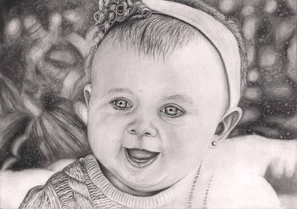 Drawn portrait baby Free Like Download Clip Lisa