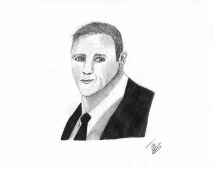 Drawn portrait bad Celebrity Portraits (102 Fans By