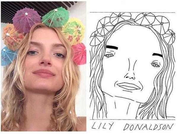Drawn portrait bad Badly Models so Ryan: by