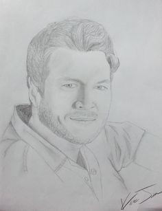Drawn portrait bad Kara  drawn drawing pencil