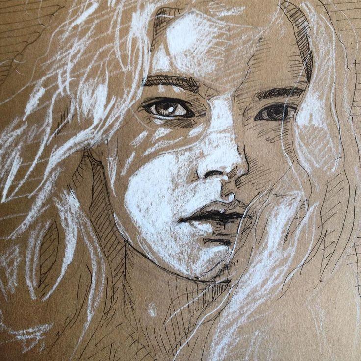 Drawn portrait basic Color on Find on &