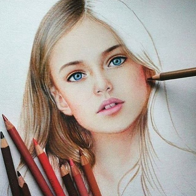 Drawn portrait best face On Face best Face images