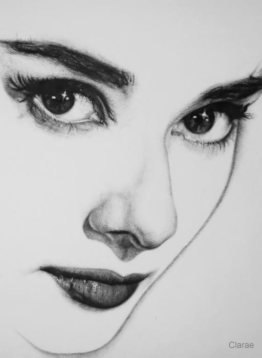 Drawn portrait best face Ideas Audrey Pinterest 25+ 10x13x0cm