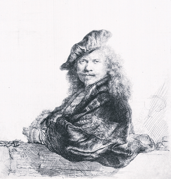 Drawn portrait black pen 1660 and ca with Drawing