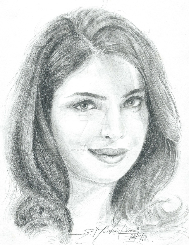 Drawn portrait bollywood By Portrait by Portrait of