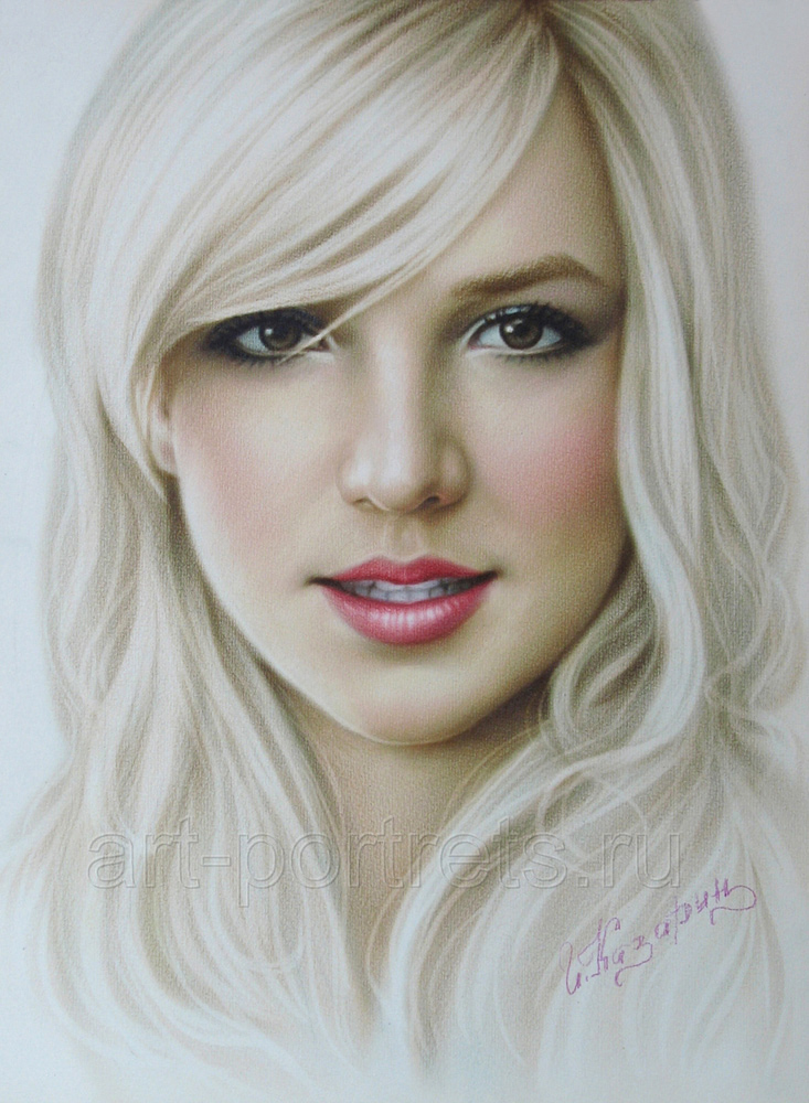 Drawn portrait britney spears Britney Spears  portrait Speed
