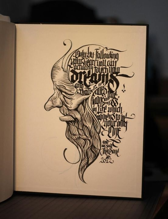 Drawn portrait calligraphy On calligraphy Pinterest 25+ Best
